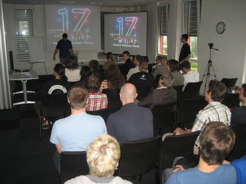 Fedora 17 Release Party v Brně