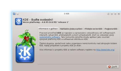 KDE 4.9 RC1 – informace o prostředí