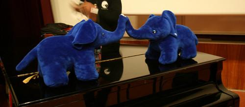 Sloni, maskoti PostgreSQL