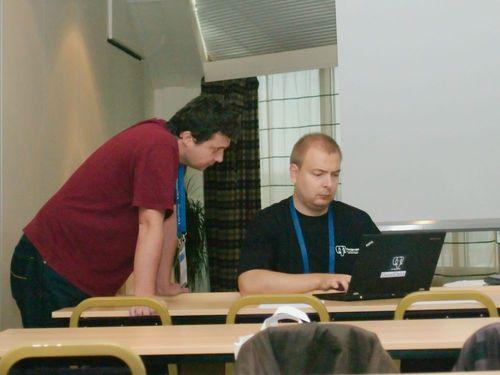 Pavel Stěhule a Tomáš Vondra, foto Lukáš Jelínek