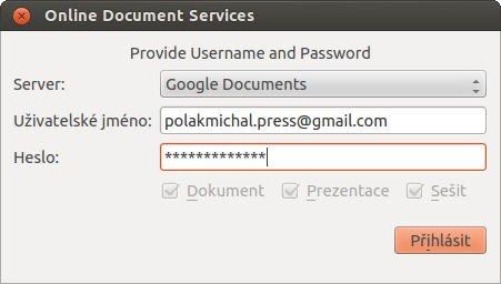 Nastavení přístupu ke Google účtu