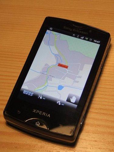 Navigator FREE na Androidu