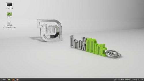 Linux Mint 13 s novým prostředím Cinnnamon