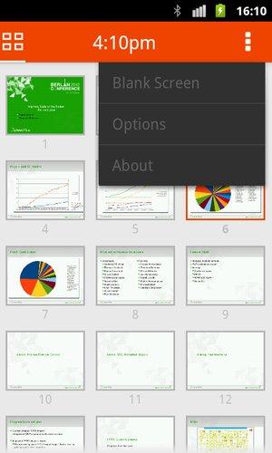 LibrOffice 4.0 – ovládání prezentace z Androidu