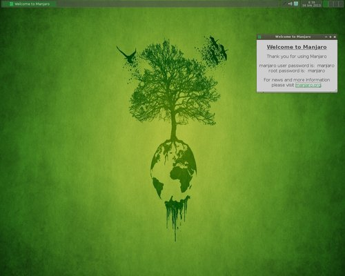 Jednoduchý a příjemný vzhled systému v live verzi