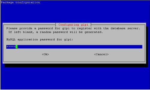Vytvorenie GLPI hesla
