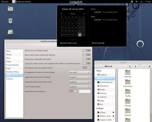 Pro příznivce GNOME 3 má Mageia také svou verzi