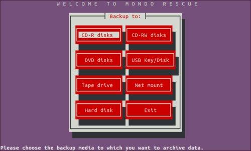 Mondo Rescue úvodná obrazovka