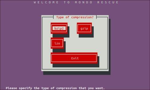 Typ kompresie