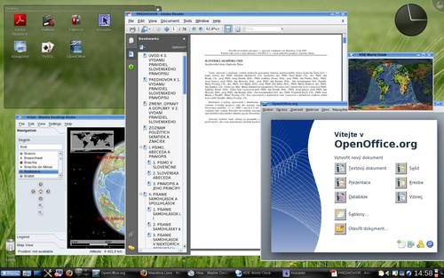 """Mandriva Linux 2009 v """"plnej paráde"""""""