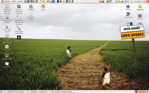 Ubuntu 8.04.1, Svatopluk Šácha
