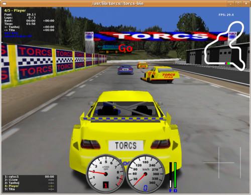 Závodní simulátor TORCS