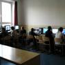 Jedna z informatických učební školy