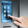 Dotykový displej připravované ledničky Electrolux Infinity I-Kitchen