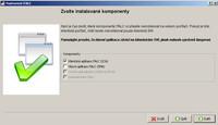 Výběr instalovaných komponent programu