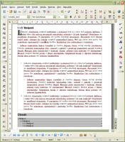Správne zobrazené OpenType písmo v OpenOffice.org vo Windows