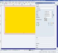 Definícia obrazového rámca celkového rozmeru obálky