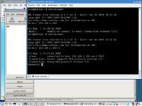 Heslo v utilite xvnc4viewer zadávate v príkazovom riadku.