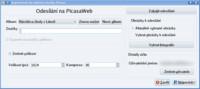 Odesílání na Picasa Web