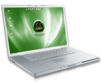 SAM Linux na notebooku, zdroj sam.hipsurfer.com