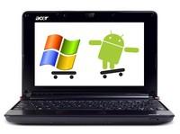 Acer uvádí netbook s Androidem i Windows, zdroj gizmologia.com