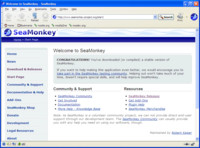 SeaMonkey 2.0 na Windows XP, zdroj www.seamonkey-project.org