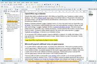OpenOffice.org Writer při přípravě tohoto článku