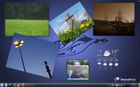 Mandriva Linux 2010 a prostředí KDE4 s miniaplikacemi