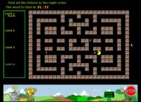 V Pacmanovi se sbírají jednotlivá písmena