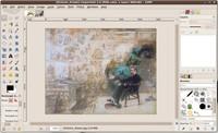 GIMP v jednom okně ve vývojové verzi 2.7, zdroj learningubuntu.com