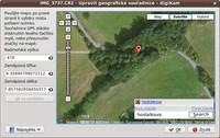 digiKam – přiřazení GPS údajů