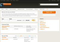 Portál jobs.linux.com