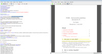 TeXworks a náhled na dokument