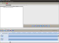 OpenShot po spuštění s nepovedeným výchozím motivem