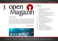 Titulní strana openMagazinu 1/2010