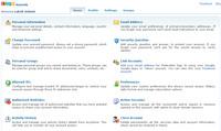 Zoho Accounts - nastavení uživatelského účtu
