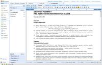 Zoho Writer - import jednoduchého dokumentu