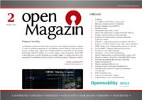 Titulní strana openMagazinu 2/2010