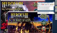 Wibom v akci: Dvě různé verze Heroes 3 spuštěné najednou