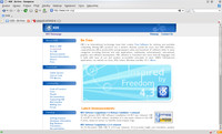 Prohlížeč webu Konqueror