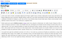 Zoho Wiki - editor obsahu wikistránek