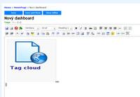 Zoho Wiki - tvorba dashboardu