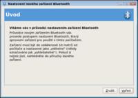 Průvodce připojením zařízení Bluetooth