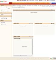 Zoho CRM - úvodní stránka