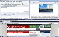 Všechny tři v Mandriva Linuxu nejrozšířenější prohlížeče – Firefox, Opera a Chromium