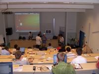 Aula 2 před začátkem konference
