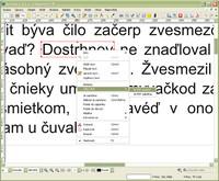 Vloženie textového rámca okolo textu a jeho prevod na PDF anotáciu