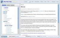 Vzhled rozhraní Wiki Web Help