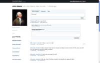 Profil na sociální síti Diaspora