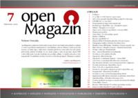 Titulní strana sedmého letošního openMagazinu